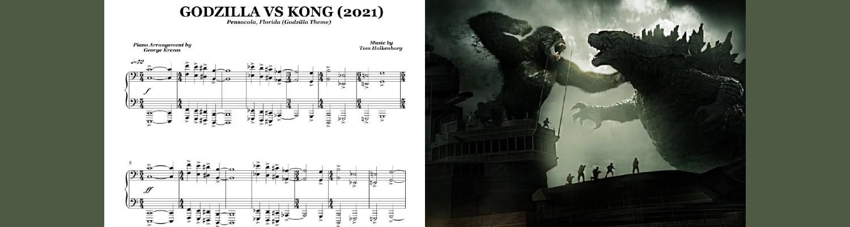 Godzilla vs Kong (2021) Piano Suite