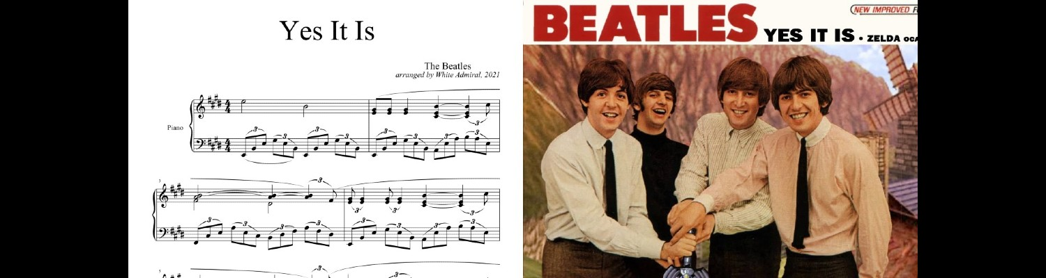 The Beatles (Yes It Is)